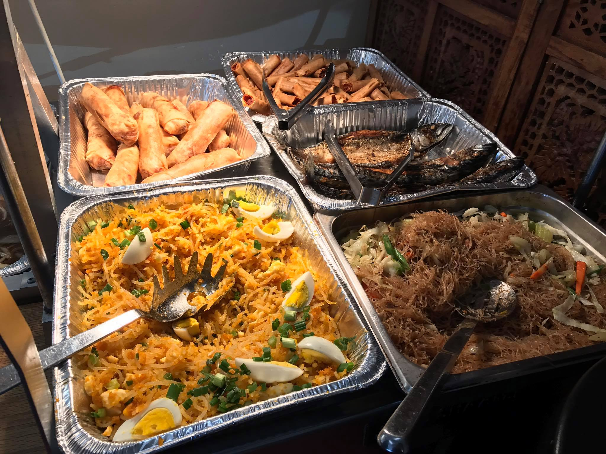 Piyesta Pinoy Food Vendors Philippine American Cultural